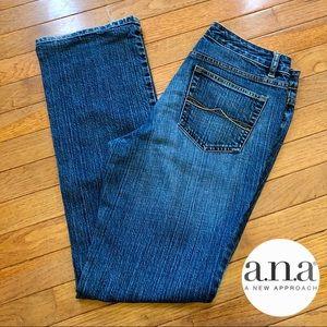 EUC a.n.a. jeans - size 8 - boot cut!